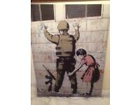 Banksy Canvas Picture