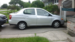 2002 Toyota Echo Automatic  As Is