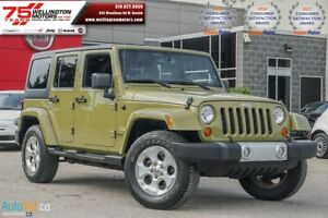 2013 Jeep WRANGLER UNLIMITED Sahara | DUAL TOP !! TRAILER TOW PK