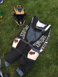 Motocross gear used once