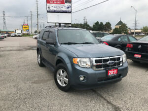 2011 Ford Escape XLT 4WD, Leather, Heated Seats, Warranty