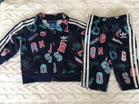 Baby Adidas track suit.3-6 months.Unisex.