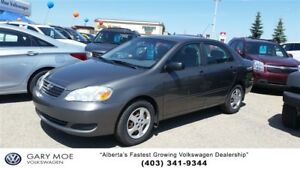 2007 Toyota Corolla CE low kms!