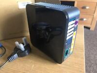 SKY HUB BLACK WIFI WIRELESS ROUTER ALMOST NEW, SKY WIFI DROP OUT? YOU HAVE AN OLD SKY HUB?