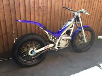 Sherco 125 trials bike 2004