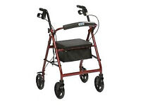 Wanted 4 wheel walker rollator mobility aid.