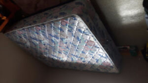good shape queen size bed and box spring
