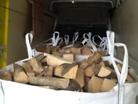 Firewood logs free delivery in 15 miles
