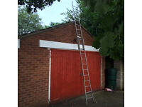 set of light 3way aluminium ladders by Gravity Randall.