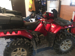 2009 sportsman 850 trade for side by side
