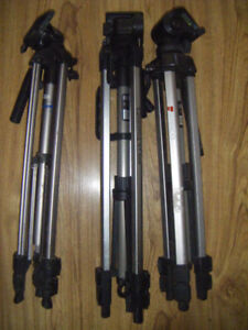 3 Tripods for sale