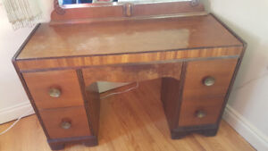 Vanity Dresser with Mirror - Good used condition