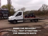 ESSEX CAR RECOVERY *** CALL 07709277886 *** BREAKDOWN AND TRANSPORT SERVICE