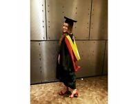 Enthusiastic graduate looking to gain some temporary work before her travels!