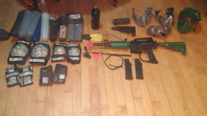 Paintball Gun plus Accessories