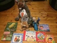 Small frozen and book bundle