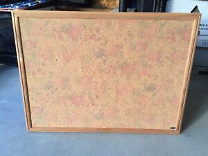 Pretty Stamped Cork Board