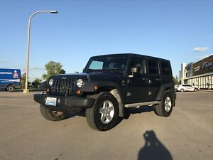 2007 Jeep Wrangler 4x4 Four Door Automatic