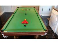Pot Black Snooker/Pool Table