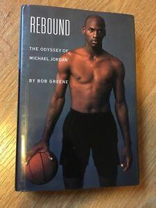 Micheal Jordan Rebound | hard cover basketball book