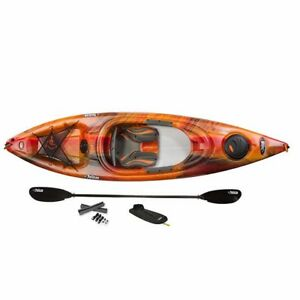 Pelican odyssey 10ft Kayaks with paddle, roof kit and skirt!