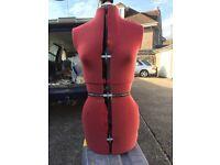 Dress makers adjustable dummy