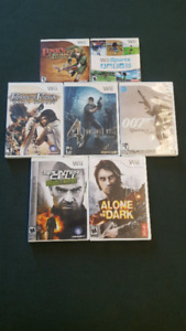 selling all wii games for 30