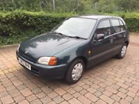 Toyota Starlet 1.3 Petrol 5-dr 12 Months MOT & TIMING CHAIN Full History £500