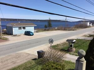 Waterfront land for sale in Glovertown next to the marina