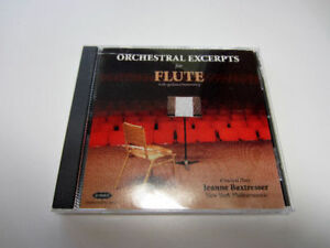 Orchestral Excerpts for Flute - CD