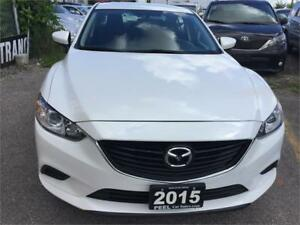 2015 Mazda Mazda6 GX|NAVIGATION|UNDER FACTORY WARRANTY|