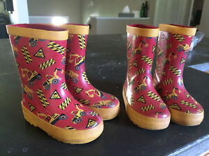Toddler Rubber Boots Sz 5