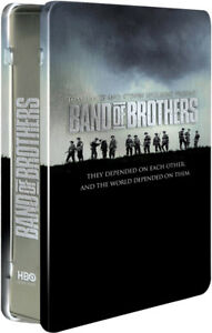 Band of Brothers-6 disc DVD Set in Steel case-Like new