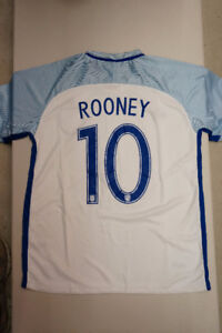 England ROONEY Soccer Jerseys! Best Quality! BRAND NEW WITH TAG!