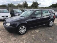 VOLKSWAGEN GOLF 2003 1.6 MY MATCH PETROL - MANUAL - LOW MILEAGE