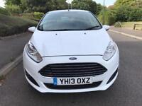 2013 Ford Fiesta 1.0 EcoBoost Zetec (Start/Stop) White 5dr 39K Miles Part ex Welcome