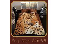 King Size Photographic Animal Duvet Set