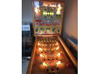 circa 1960,s bally big show pinball machine