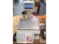Avery Berkal digital Shop till scales and built in till drawer