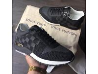 LV Louis Vuitton Run Away Sneakers Charcoal UK 7