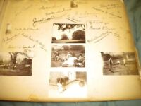 c1890s 40 PHOTOS AND AUTOGRAPHS OF RESIDENTS OF 4 STATLEY HOMES HALL GROVE SCALDWELL CHALFONT HOLLY