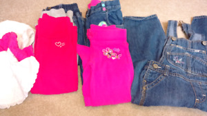 Girls 3 T pants and Hats