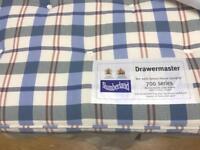 Double bed Slumberland Drawermaster 700 series