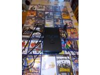 PS2 with loads of CD's