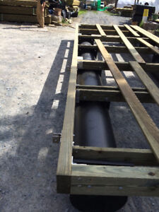 "18"" Diam. Dock Pontoons - 24 ft long"