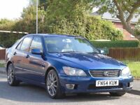 LEXUS IS 200 2 OWNERS,GOOD SERVICE,FULL MOT