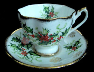 Cup and Saucer Queen Anne Fine Bone excellent