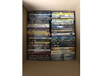 Great collection of 100 DVDs and boxsets