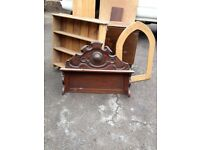 Pine Frame Arched