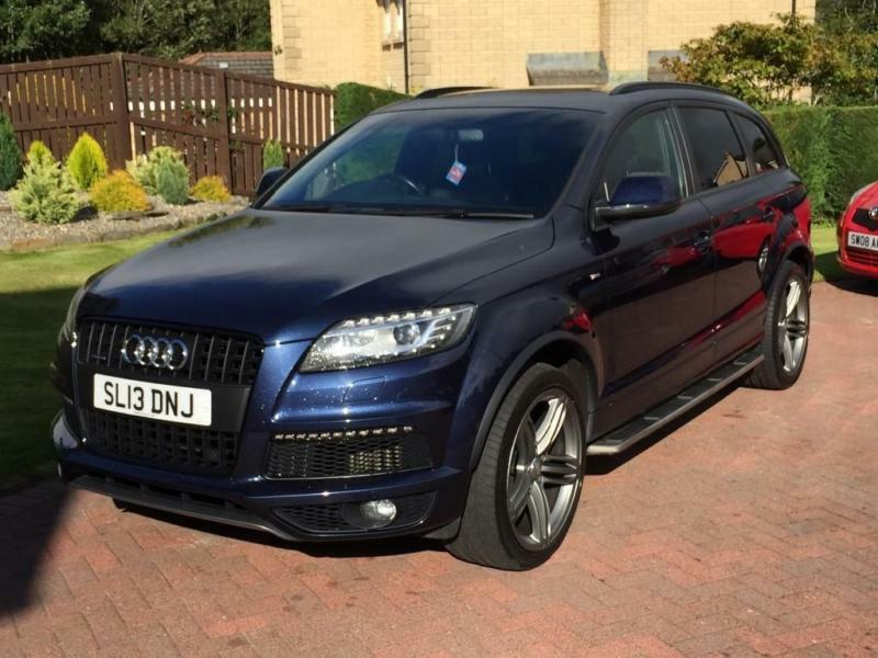 Audi Q7 3.0TDI quattro (245ps) S Line Plus Station Wagon 5d 2967cc Tiptronic